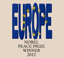 Europe - Nobel Peace Prize winner 2012 Womens Fitted T-Shirt