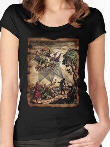 Medieval Spirit Minstrels Women's Fitted Scoop T-Shirt