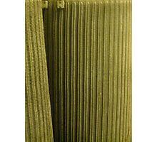 Green fuse Photographic Print