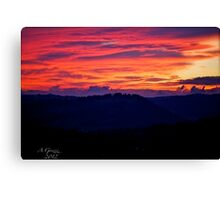 When the new day comes. by Andrzej Goszcz. Canvas Print