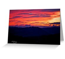 When the new day comes. by Andrzej Goszcz. Greeting Card
