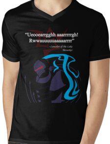 Berserker Quote Mens V-Neck T-Shirt