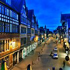 019 Chester At Night by George Standen