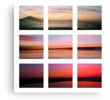 3 seascapes Canvas Print