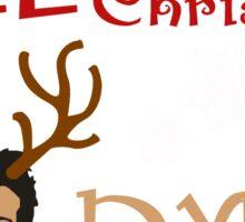 Christmas Stiles Sticker