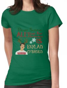 Christmas Stiles Womens Fitted T-Shirt
