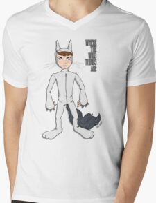 Where The Wild Things Are Mens V-Neck T-Shirt