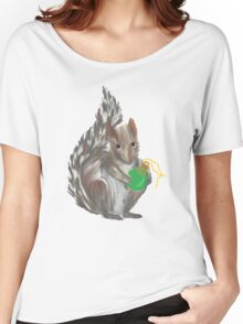 Christmas Squirrel Women's Relaxed Fit T-Shirt