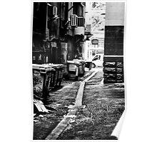Alley, Melbourne Poster