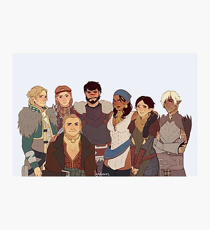 Dragon Age II Photographic Print
