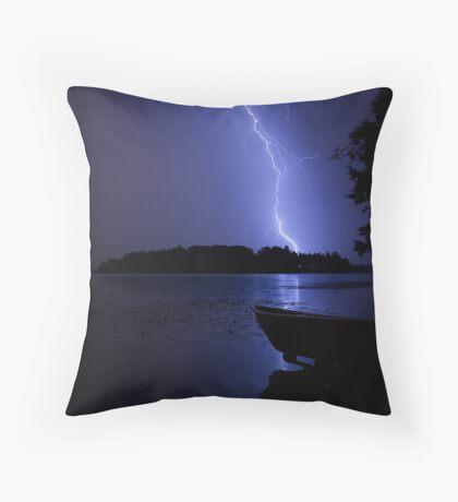 The Electric Sauna Throw Pillow