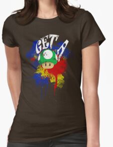 Get a Life Womens Fitted T-Shirt