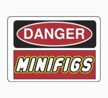 Danger Minifigs Sign by Chillee Wilson, Customize My Minifig by ChilleeW