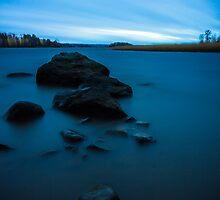 The long blue sunset by Joose Järvenkylä