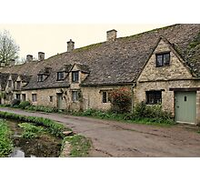 Pretty Cottages All in a Row Photographic Print
