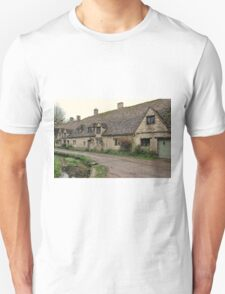 Pretty Cottages All in a Row Unisex T-Shirt