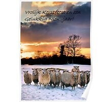 Merry Christmas and Happy New Year ( Dutch ) Poster