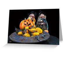 ..... escaped Halloween survivors.....  Greeting Card