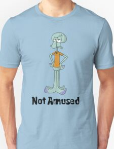 Squidward is Not Amused T-Shirt