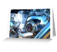 Harley-Davidson Riders Club Great Britain Greeting Card