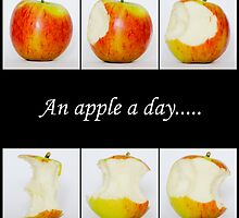 Apples - an apple a day..... by Andrew Robinson