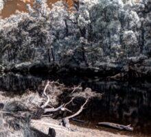 Warren river infrared Sticker