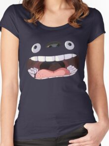 My Big Mouth Neighbor Women's Fitted Scoop T-Shirt