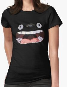 My Big Mouth Neighbor Womens Fitted T-Shirt