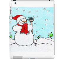Snowman Fun!  iPad Case/Skin