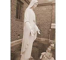 Mother Mary please guide me Photographic Print