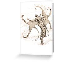 Icaroid Greeting Card