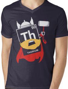 THORIUM Mens V-Neck T-Shirt