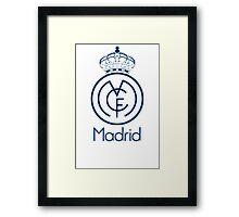 Real Madrid Logo Framed Print