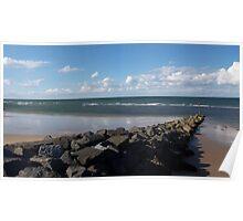 Sheringham Beach, Norfolk, England Poster