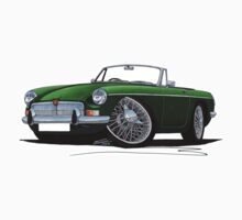MG B Roadster British Racing Green T-Shirt