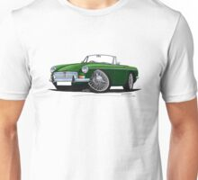 MG B Roadster British Racing Green Unisex T-Shirt