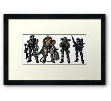 Halo Reach Framed Print