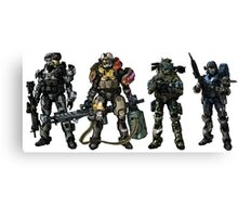 Halo Reach Canvas Print
