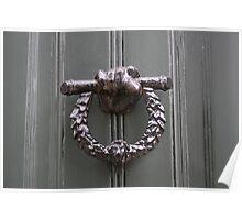 Keats' House door knocker Poster