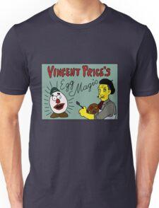 Vincent Price's Egg Magic Unisex T-Shirt