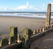Mundesley Beach III, Norfolk, England by Richard J. Bartlett