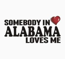 Somebody In Alabama Loves Me Kids Clothes