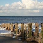 Mundesley Beach IV, Norfolk, England by Richard J. Bartlett