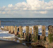 Mundesley Beach IV, Norfolk, England by Richard J. Bartlett