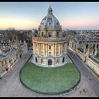 The Radcliffe Camera in Oxford by jonshock