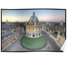 The Radcliffe Camera in Oxford Poster