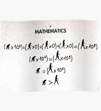 99 Steps of Progress - Mathematics Poster