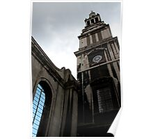 Christchurch Greyfriars London Poster