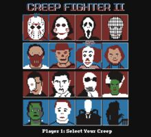 Hyper Creep Fighter II by cactusrobtees
