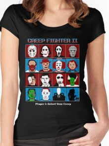 Hyper Creep Fighter II Women's Fitted Scoop T-Shirt